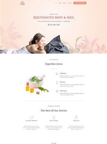 sito web per beauty center salone bellezza